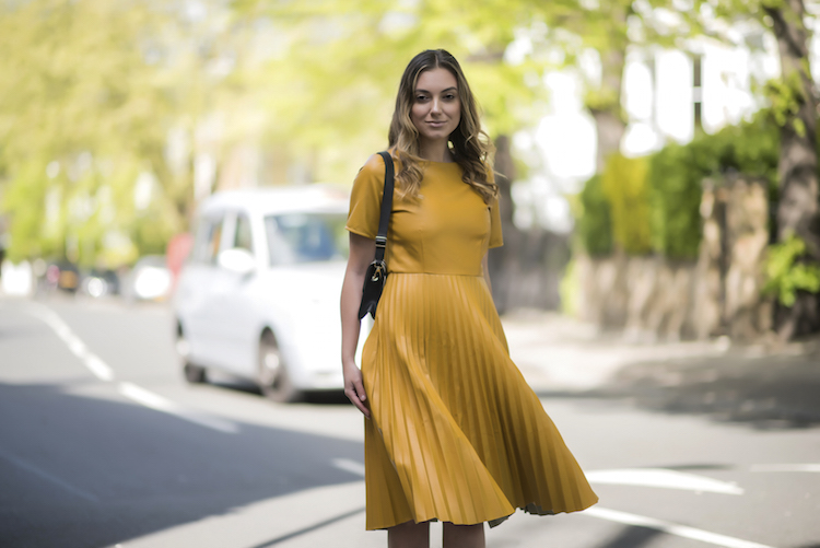 The Yellow Statement Dress of SS'17