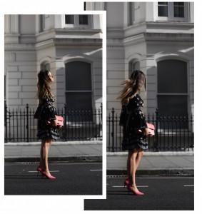 Andreea Cristea / Andreea Cristea Fashion Blog / Andreea Cristea and French Connection Collaboration / Andreea Cristea London / Andreea Cristea London Blogger / Andreea Cristea celebrity