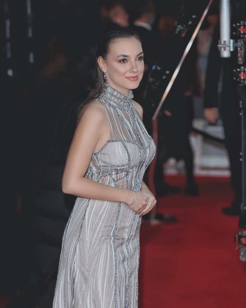 Andreea Cristea | Andreea Cristea Red Carpet Look | Andreea Cristea BAFTA 2020